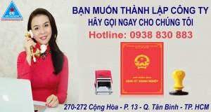 Dịch Vụ Đăng ký Thành Lập Công ty Trọn gói TpHCM