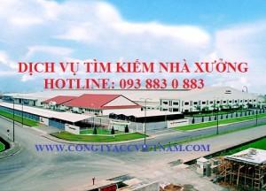 Dịch vụ tìm kiếm nhà xưởng địa chỉ công ty