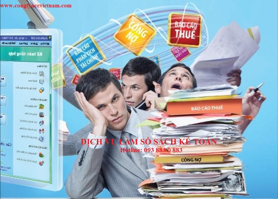 Dịch vụ sổ sách kế toán