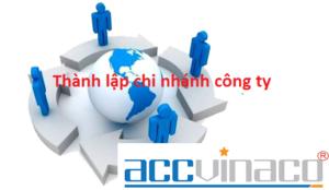 Dịch vụ thành lập chi nhánh công ty tại Việt Nam