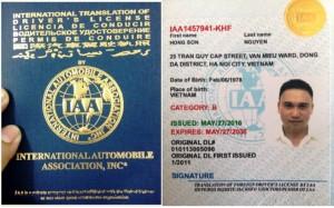 Dịch vụ cấp đổi bằng giấy phép lái xe