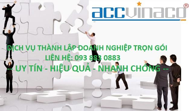 Thủ tục xin thành lập doanh nghiệp ở TPHCM