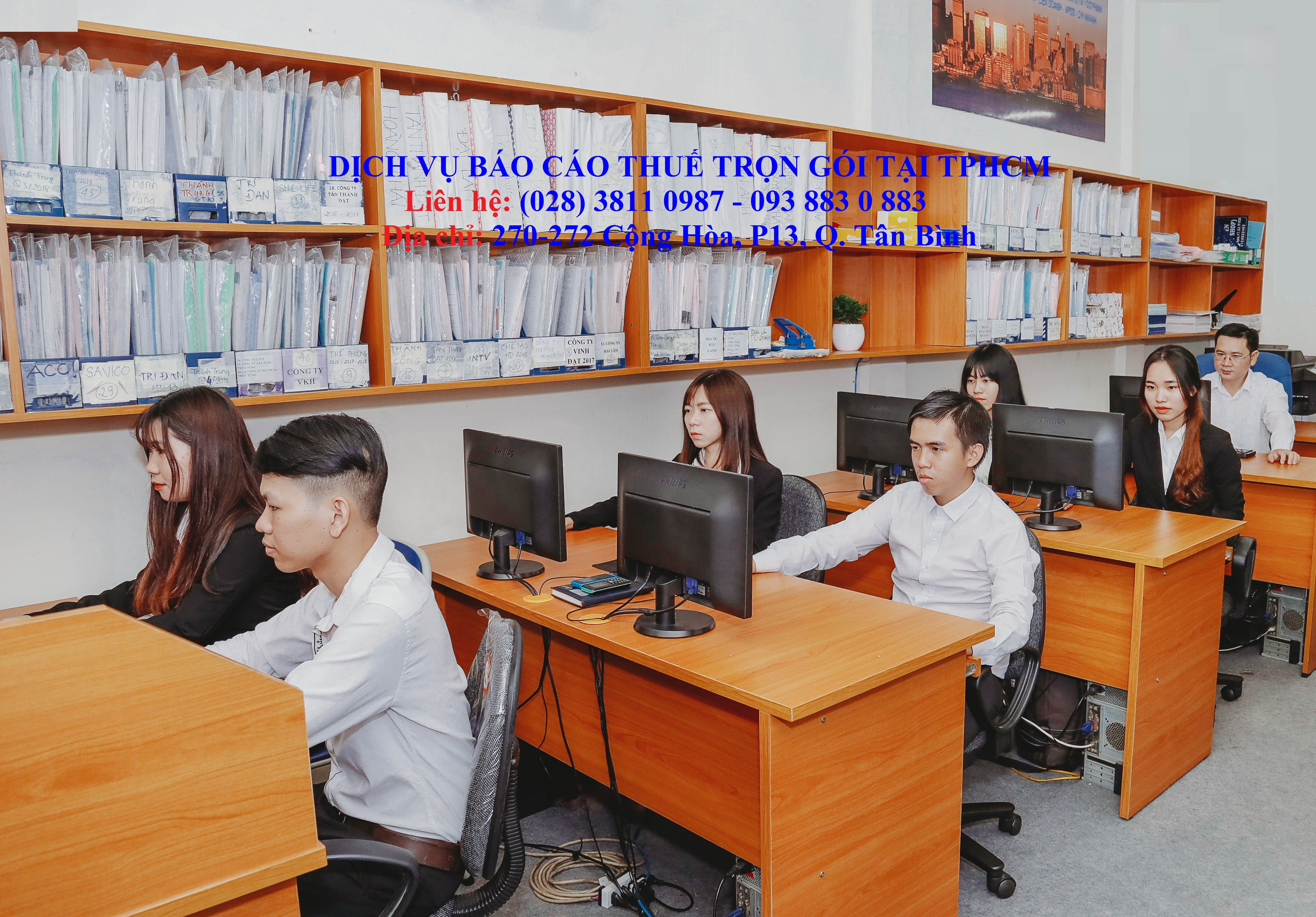 Dịch vụ hoàn thiện sổ kế toán