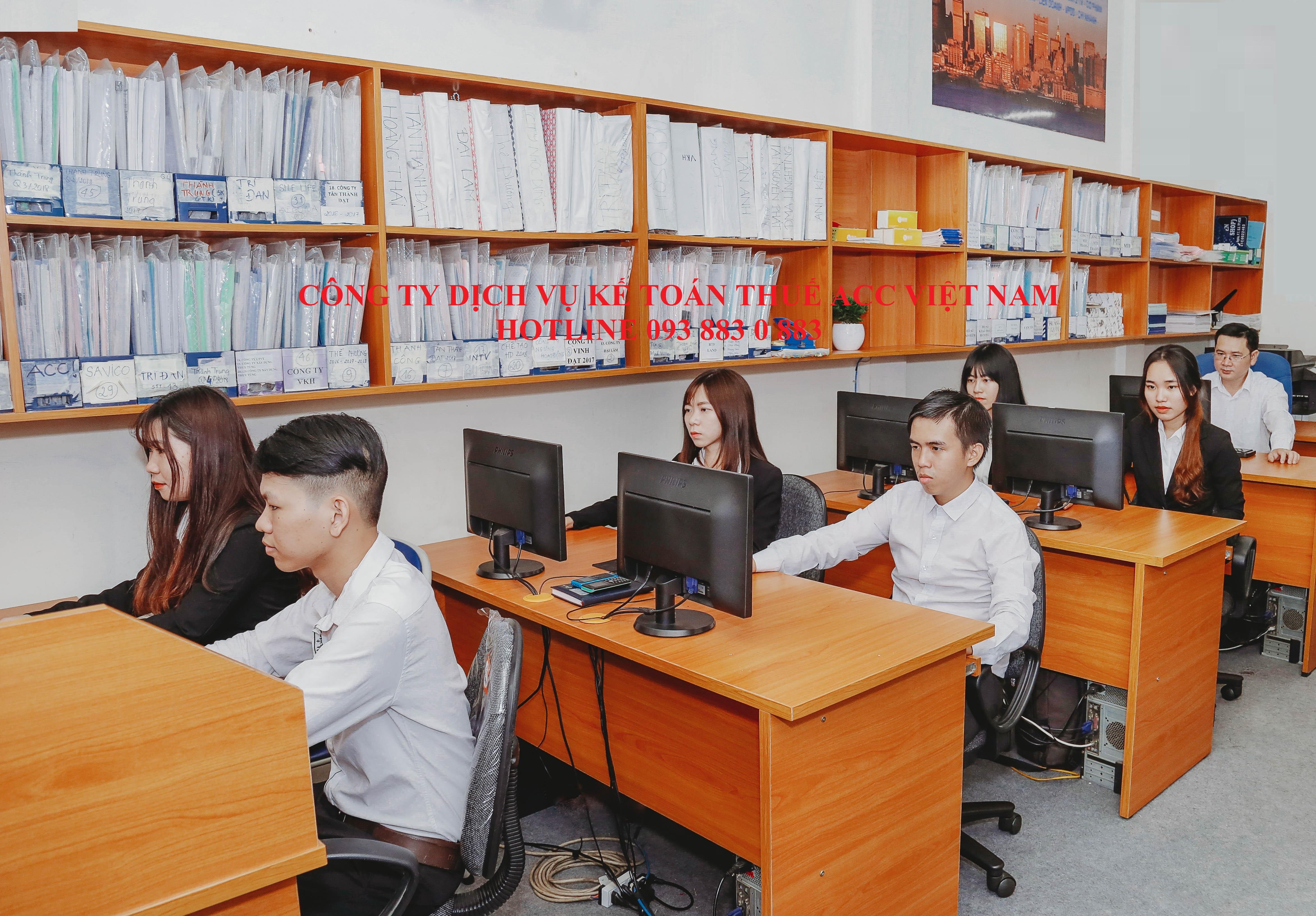 Công ty dịch vụ kế toán thuế ACC