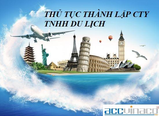 Thủ tục thành lập công ty TNHH du lịch ở TPHCM