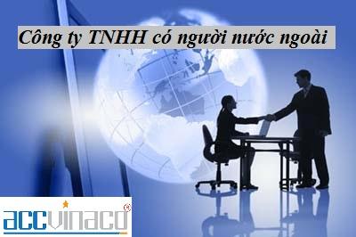Thành lập công ty TNHH có người nước ngoài