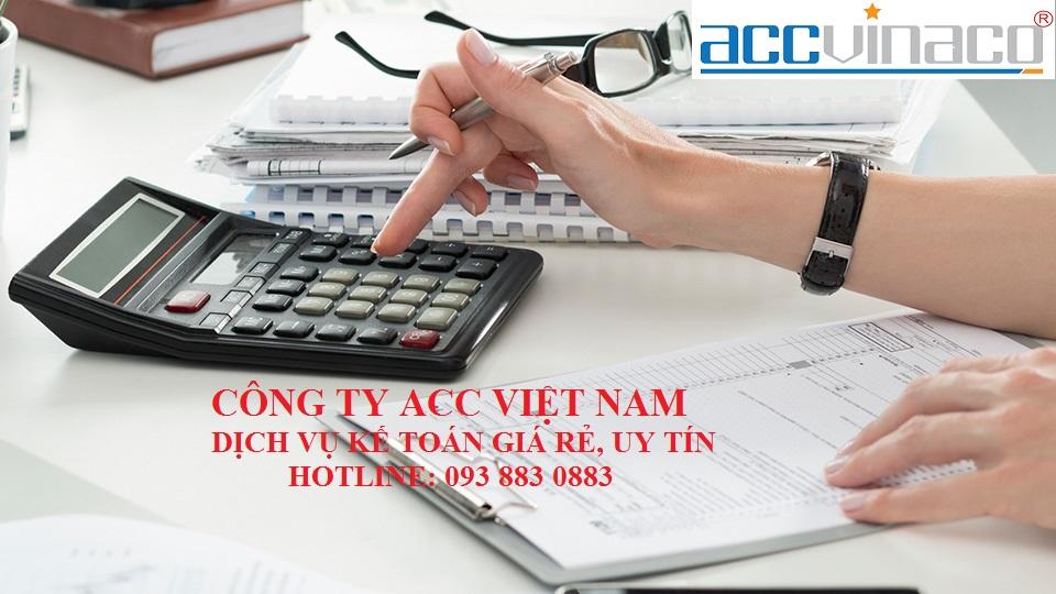 Dịch vụ kế toán giá rẻ Tphcm