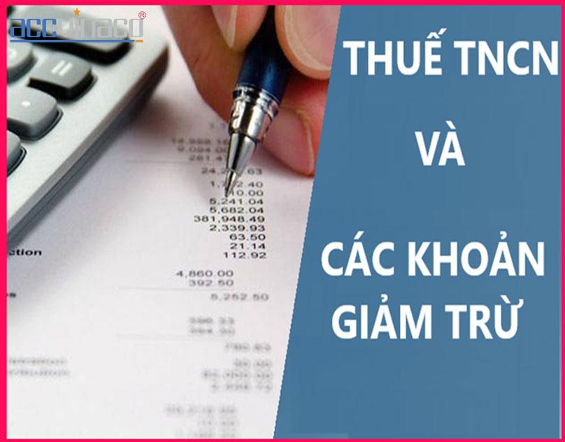 Dịch vụ quyết toán thuế TNCN giảm trừ gia cảnh 2020