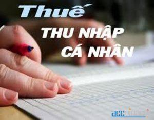 Dịch Vụ Hoàn Thuế Thu Nhập Cá Nhân TTNCN (Nhanh,Trọn Gói)