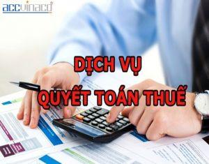 Dịch Vụ Quyết Toán Thuế Doanh Nghiệp – TNCN (Trọn Gói)