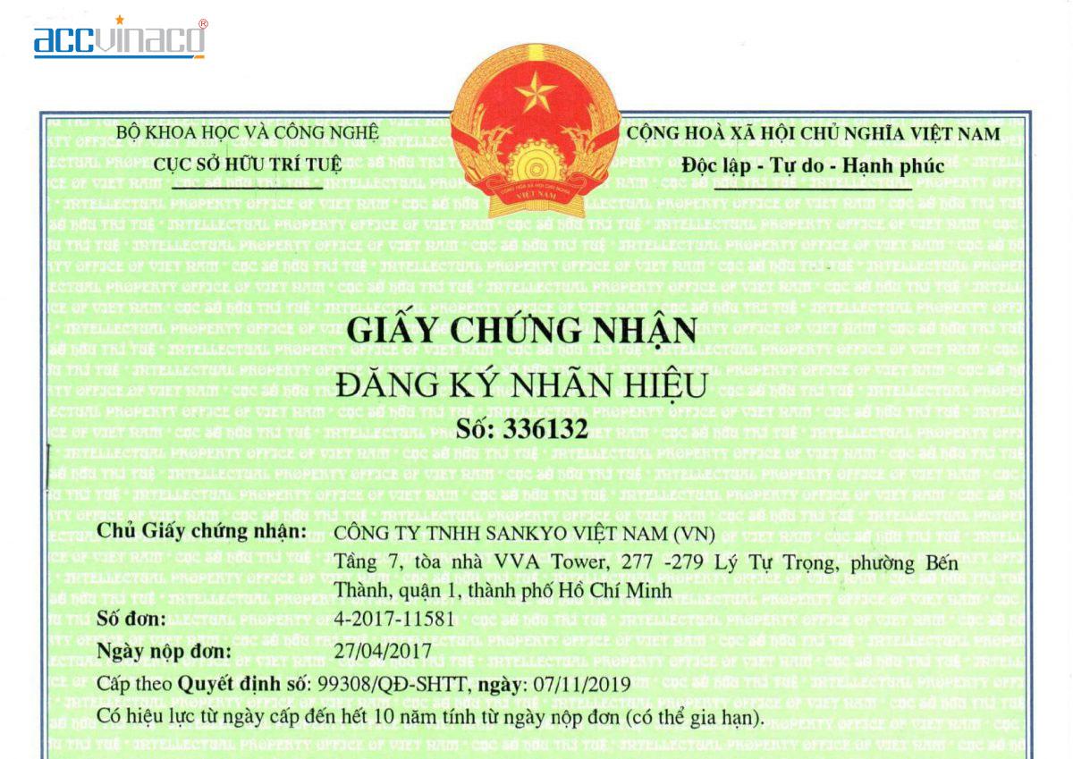 Thủ tục chấm dứt hiệu lực giấy chứng nhận đăng ký nhãn hiệu
